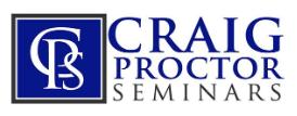 Craig Proctor Seminars